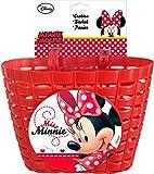 Disney-Minnie-Mouse-Fahrradkorb-fr-Kinderfahrrder-mit-2-Laschen-Rot-35623