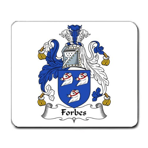 forbes-family-crest-coat-of-arms-mouse-pad