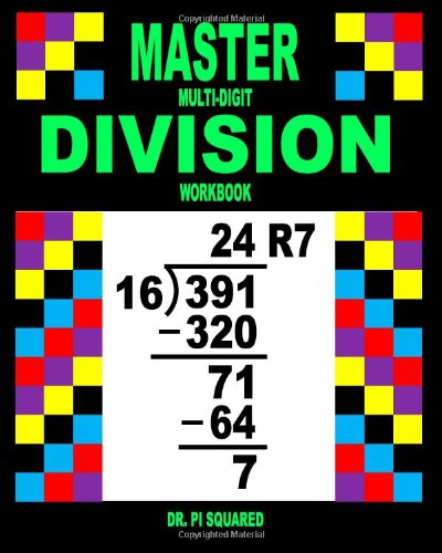 Master Multi-Digit Division Workbook