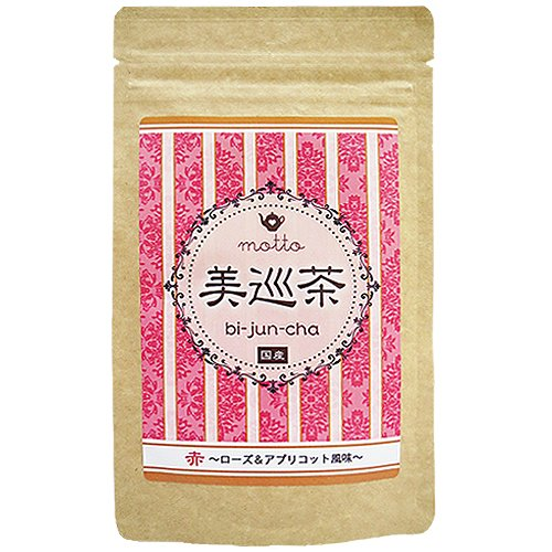 クオーレ motto・美巡茶 赤~ローズ&アプリコット風味~ 50g