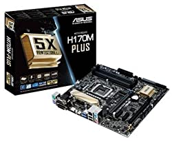 Asus H170M-Plus LGA1151 DDR4 Board + Intel Core i5 6400 (2.8GHz upto 3.3GHz) + 8GB DDR4 2133MHz Memory Essential System Combo