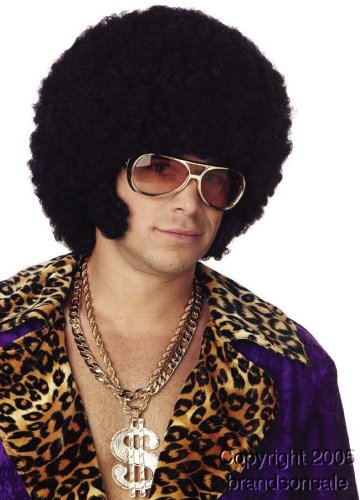 Afro Chops Wig Costume Accessory