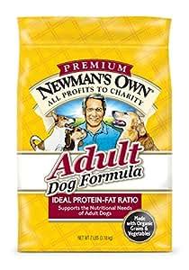 Newman's Own Adult Dog Food Formula, 7-Pound Bag