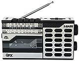 QFX J7 Boombox AM/FM Cassette Recorder