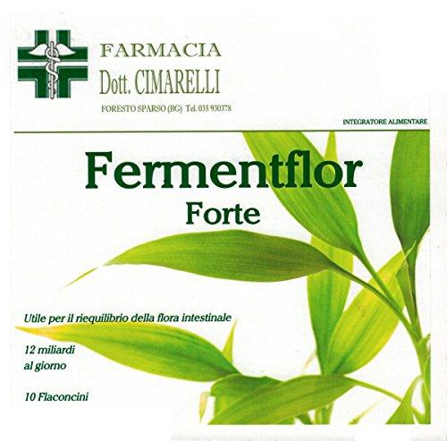 Ferment Flor Forte - Fermenti lattici Dr. Cimarelli - probiotici ad alta concentrazione e vitamine.