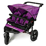 Out n About Nipper Double v4 Stroller Purple Punch