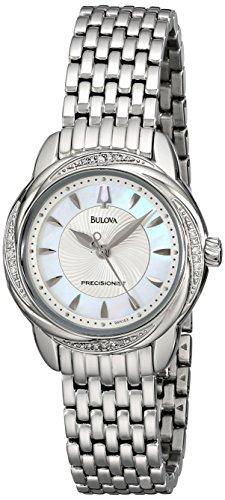 Bulova Women's 96R153 Precisionist Brightwater Swirl pattern Watch