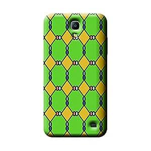 Garmor African Pattern Design Plastic Backcover for Samsung Galaxy Mega 2- (African 8)