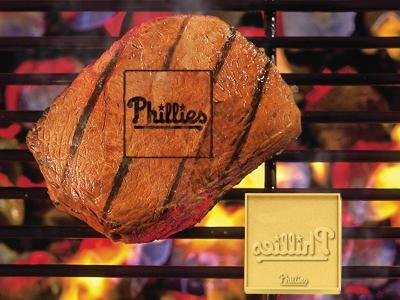 Fan Brand 11286 MLB Philadelphia Phillies Zinc Alloy Grilling Brander at Amazon.com