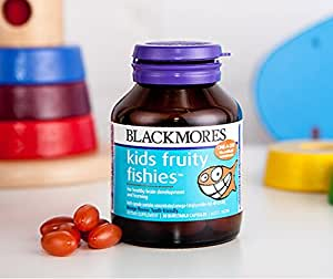 Blackmores kids fruity fishies dha 30 caps for Chewable fish oil
