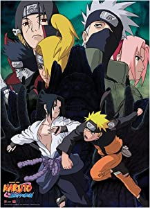 Naruto Shippuden: Naruto VS Sasuke Broken Bonds Anime Wall Scroll