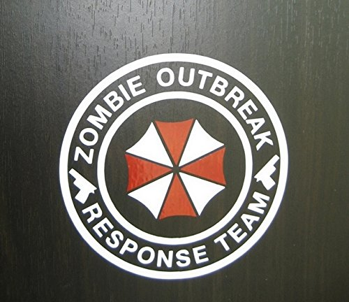 Umbrella Corporation Sticker Decal Aufkleber 15cm Zombie Outbreak Response Team Die Cut JDM Auto Laptop Domo Kun (Zombie Laptop Decal compare prices)