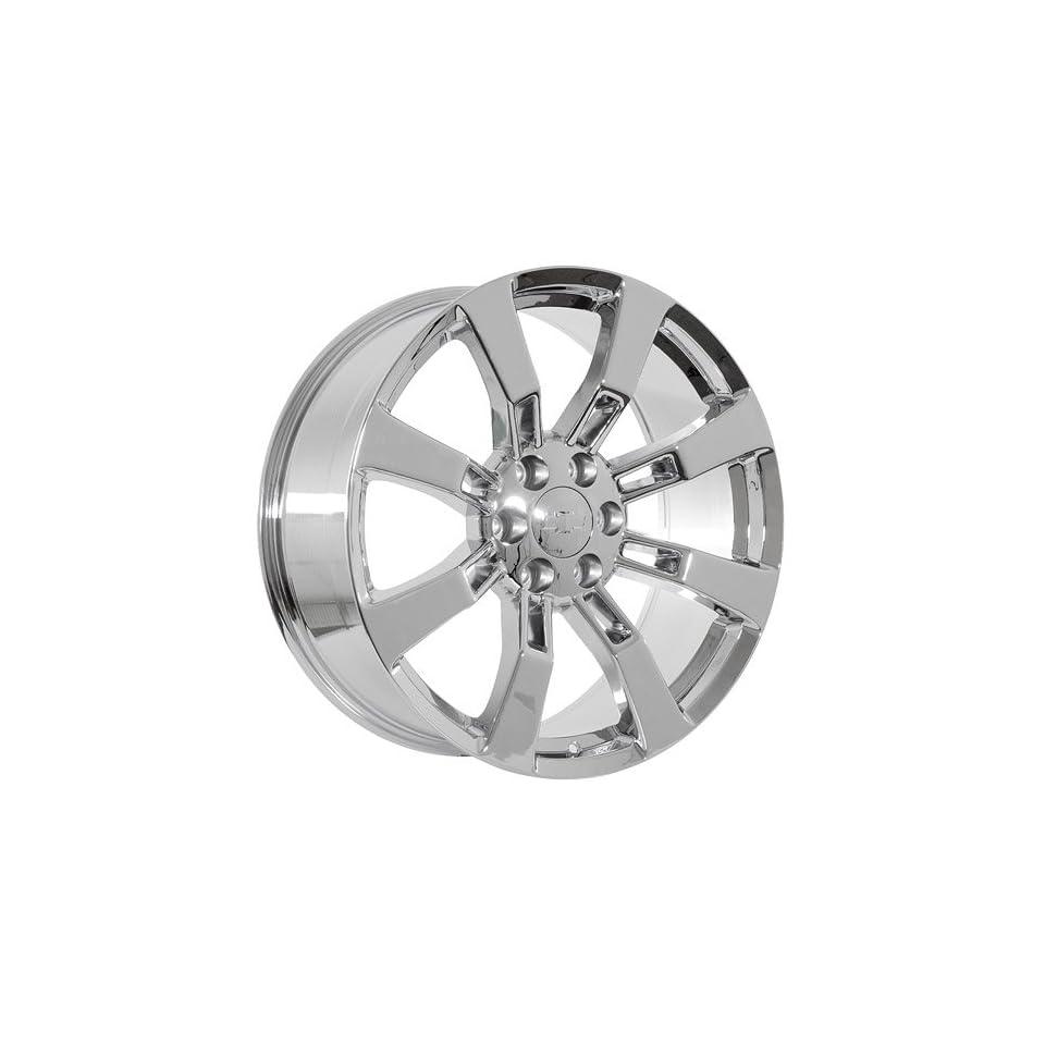 22 inch chrome Chevy Silverado Suburban Tahoe Avalanche wheels rims