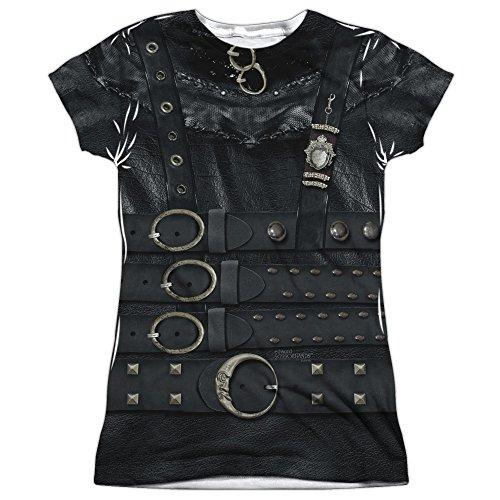 Edward Scissorhands Romantic Edward Leather Costume Print T-Shirt