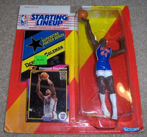 1992 Derrick Coleman NBA Starting Lineup