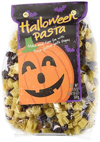 Halloween Pasta - Fun Halloween Shapes - Spiders, Ghosts, Bats, Pumpkins (Halloween Pasta compare prices)
