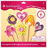American Girl Crafts Pencil Toppers Sewing Kit
