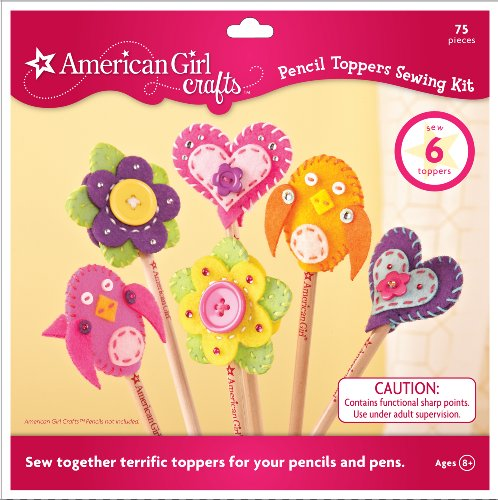 American Girl Crafts Pencil Toppers Sewing Kit (Art Craft & Sewing compare prices)
