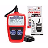 HappyCow KW806 Universal Car OBDII Can Scanner Error Code Reader Scan Tool OBD 2 BUS OBD2 Diagnosis Scaner PK AD310 ELM327 V1.5