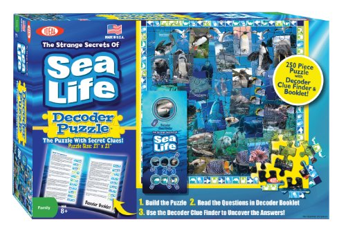 Ideal Sea Life Decoder Puzzle