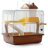 PETAMO® Portable Small Animal Hamster Gerbil Mouse House Cage Coffee