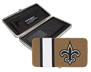 NFL New Orleans Saints Shell Mesh Wallet by Littlearth