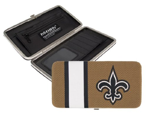 littlearth-nfl-new-orleans-saints-shell-mesh-wallet