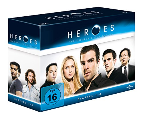 Heroes - Gesamtbox/Season 1-4 [Blu-ray] [Limited Edition]