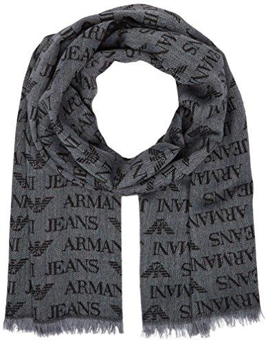 Armani Jeans 934504CC786-Sciarpa Uomo, colore Grau (GRIGIO 00041), Taglia unica