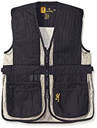 Browning Junior Trapper Creek Vest, Black/Tan, Large