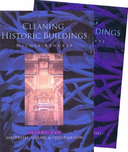Cleaning Historic Buildings: v. 1 & 2