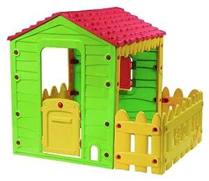 Maison enfant les bons plans de micromonde - Cabane en plastique pour enfant ...