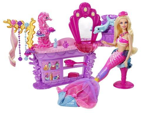 Mattel bhm95 barbie la magia di perle sirene salon - Barbi la sirene ...
