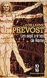 Les sept crimes de Rome par Prévost
