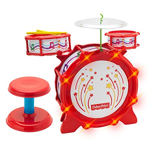 Fisher-Price Big Bang Drum Set With Lights front-170622