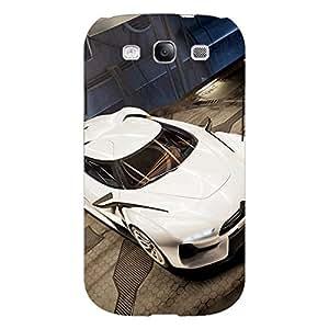 Jugaaduu Super Car Aston Martin Back Cover Case For Samsung Galaxy S3 Neo GT- I9300I
