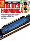 img - for CP69146 - 10 Easy Lessons - Blues Harmonica book / textbook / text book