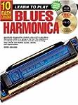10 Easy Lessons Blues Harmonica Bk/CD