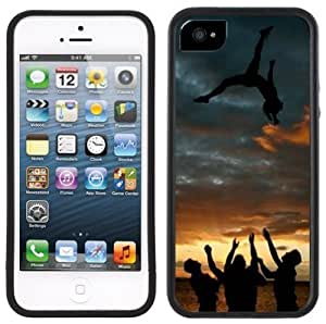 Amazon.com: Cheerleader Cheerleading Handmade iPhone 5 Black Bumper