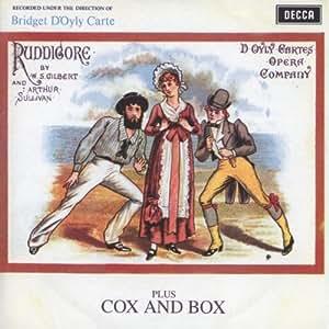 Ruddigore: Cox & Box