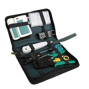 Vktech 11 in 1 Professional Network Computer Maintenance Repair Tool Kit Toolbox from Vktech