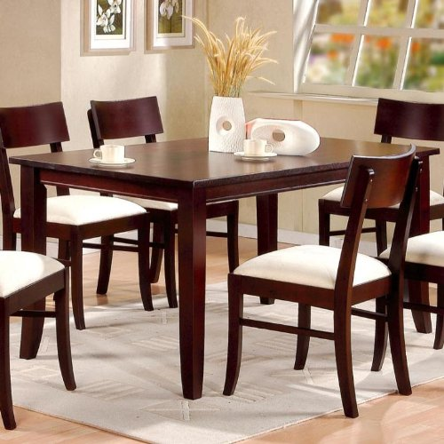 Buy Low Price Coaster Furniture Cappuccino Finish Dining Table by Coaster (B004J11HVW)