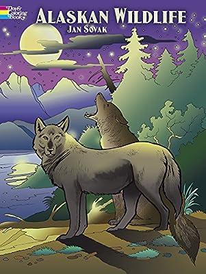 Alaskan Wildlife Coloring Book (Dover Nature Coloring Book)