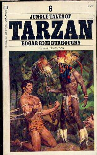 Jungle Tales of Tarzan #6, Edgar Rice Burroughs