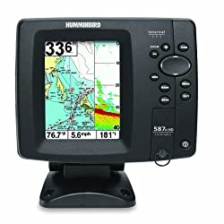Humminbird 587ci HD Waterproof Marine GPS and Chartplotter with Sounder