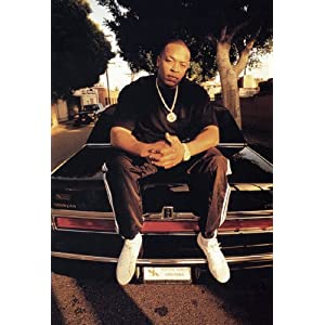 Dr. Dre Poster, Rapper, Record Producer, Hip-hop, Rap, Los Angeles, California