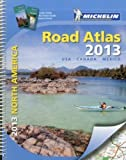 img - for Michelin North America Road Atlas 2013 (Atlas (Michelin)) by Michelin Travel & Lifestyle 11th (eleventh) Edition (6/16/2012) book / textbook / text book