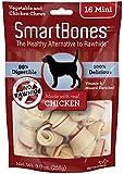 SmartBones Chicken Dog Chew, Mini, 16-Count