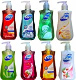 Ultimate Rainbow 8 Pack Dial Hand Soaps with Moisturizer Antibacterial