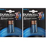 Duracell Alkaline Battery ULTRA AAA2 Pack Of 2 (4 Cell)